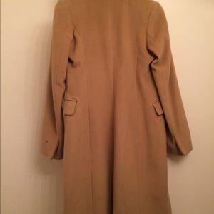 Banana Republic Fall 2016 Fur Trimmed Coat